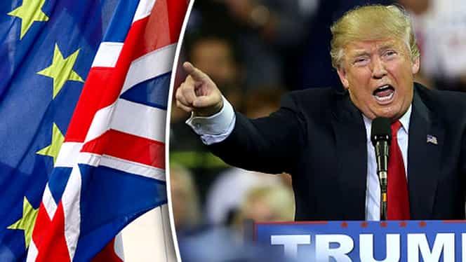 Legatura neaşteptată dintre Brexit şi Donald Trump. Cifrele ar putea ascunde o uriaşă surpriză în Statele Unite