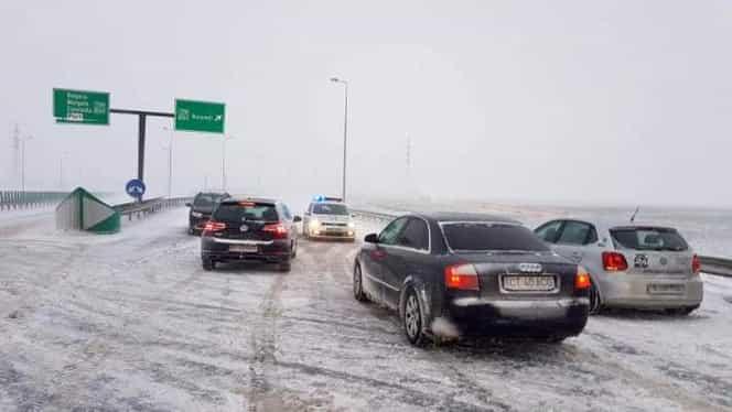 Şapte drumuri naţionale, închise şi temperaturi sub -10 grade! Primele efecte după valul de frig polar