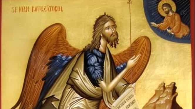 Tradiții, obiceiuri de Sfântul Ioan Botezătorul. Ce este interzis să faci pe 7 ianuarie