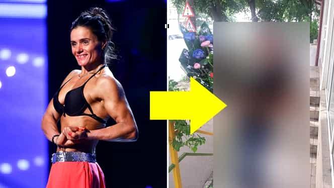 """IMAGINI ÎN PREMIERĂ cu Chira Lepădatu, culturista de 50 de ani care a şocat audienţa la """"Românii au Talent""""!  Cum arăta la 46 de ani, înainte să se apuce de slăbit"""