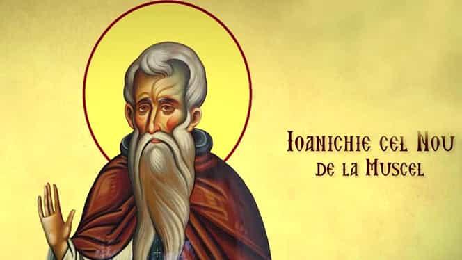 Calendar ortodox vineri, 26 iulie 2019. Este pomenit Cuviosul Ioanichie cel nou de la Muscel