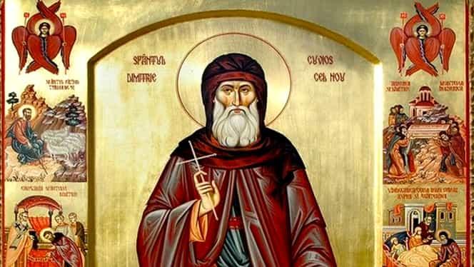 Calendar ortodox 27 octombrie. Din nou cruce roșie și astăzi!