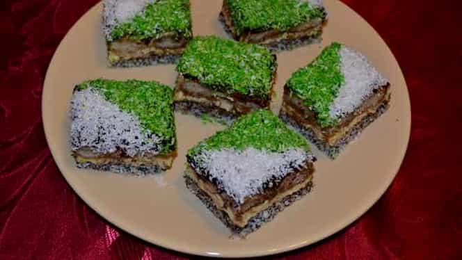 Rețeta zilei de 17 decembrie. Cum să prepari delicioasa prăjitură Crăciunița