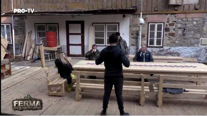 """Scandal la Ferma între Cătălin Zmărăndescu și Otniela: """"Hai, pune-ţi botniţă"""""""