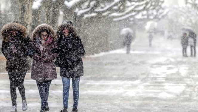 Iarna vine mult mai repede, anul acesta! Ce se întâmplă cu vremea