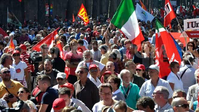 Grevă generală în Italia. Avertismentul MAE pentru românii care tranzitează țara sau vor să meargă aici