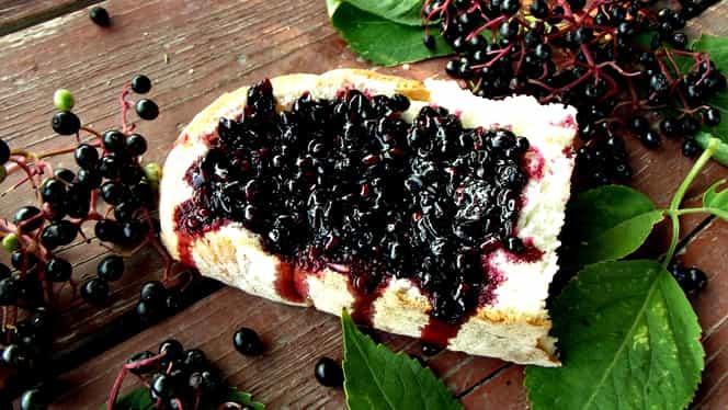 Rețeta zilei de 8 iulie. Dulceață de fructe de soc, ca la Mănăstirea Sihăstria Putnei