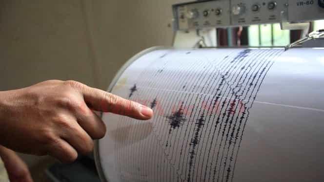 Cutremur în România! Seismul a avut loc în zona seismică Vrancea!