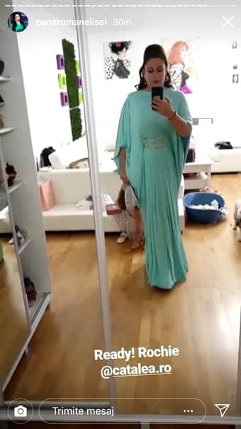 Cum s-a îmbrăcat Oana Roman la nunta Adelinei Pestrițu. A avut două ținute. FOTO