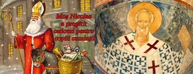 Tradiții de Moș Nicolae: nu dormiți în noaptea sfântă dintre 5 și 6 decembrie pentru a-l vedea pe Moș NIcolae de-a dreapta Domnului. Este o ocazie unică!