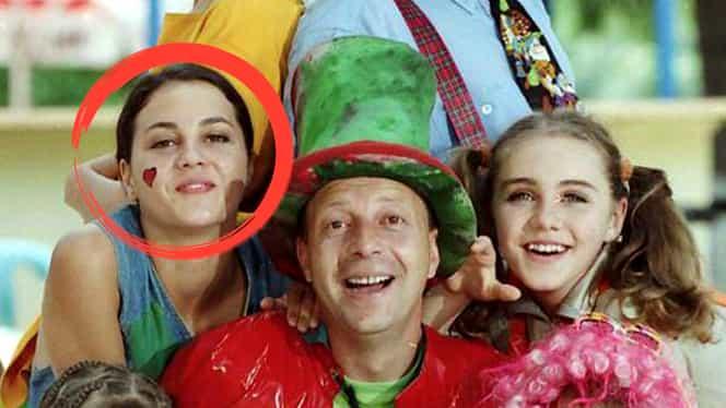 """O mai ţii minte pe """"Colombina"""" de la Abracadabra? Uite cum arată la 17 ani de când nu mai apare la TV"""