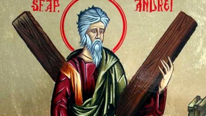 În data de 30 noiembrie, îl sărbătorim pe Sfântul Apostol Andrei, ocrotirorul românilor