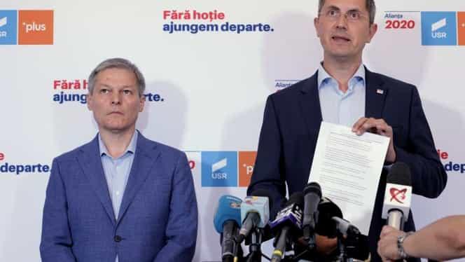 """Dan Barna, declarații la rece după eșecul de la prezidențiale! """"Nu sunt un lider care să plece sau să abandoneze lupta"""". Cioloș: """"Nu e o surpriză, susținerea noastră merge pentru Klaus Iohannis"""""""