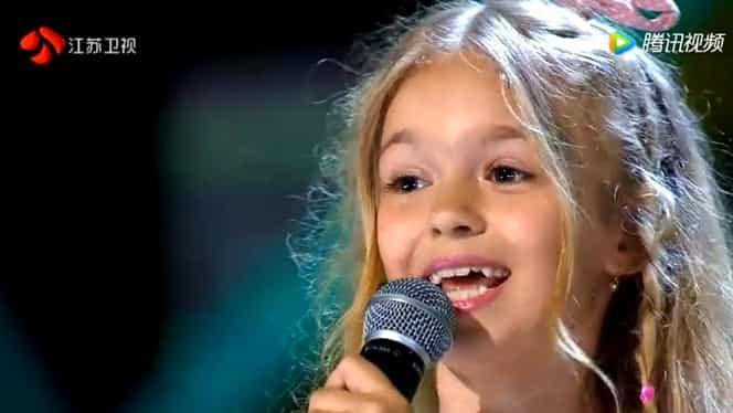 Fetiţa din România care a impresionat China. La doar 7 anişori a cucerit inimile asiaticilor