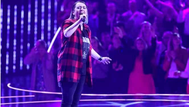Cine e Cătălina Antal, prima concurenta de la Cânta Acum cu Mine care i-a ridicat pe cei 100 de jurați in picioare