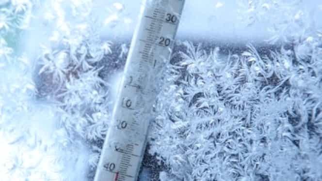 Val de aer polar, în România! Ce ne așteaptă după codul galben de ninsori: -19 grade Celsius