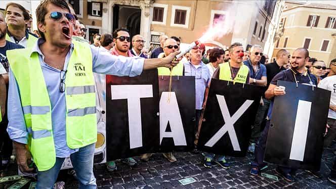 Proteste Anti-Uber în toată Europa. Cum au rezolvat statele din UE Legea Taximetriei