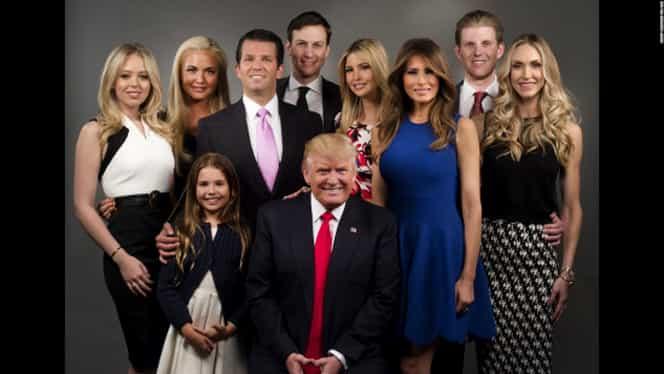 Donald Trump, din nou bunic! Preşedintele SUA are nouă nepoţi