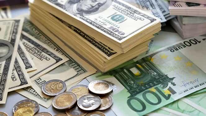 Curs valutar BNR azi, 15 martie 2019. Euro și Dolarul american, în scădere