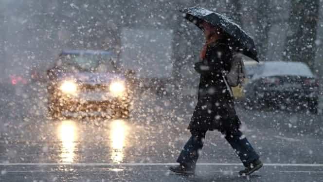 Prognoza meteo duminică, 20 ianuarie. Vremea în București, Iași, Constanța, Brașov sau Cluj: Ploi și ninsori în toată țara