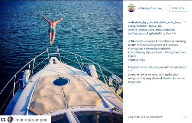 """GALERIE FOTO. """"Copiii bogaţi ai Bucureştiului"""", cont COMUN pe Instagram! FIŢOŞII capitalei, în imagini! Îi recunoşti?"""