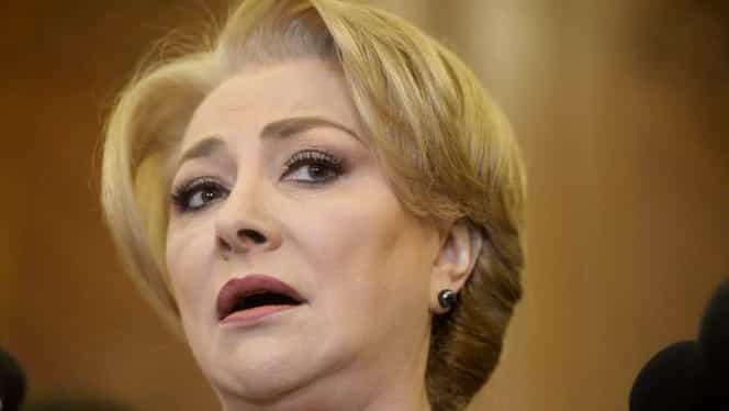 Premierul Viorica Dăncilă gafează din nou! Două greșeli într-o frază!