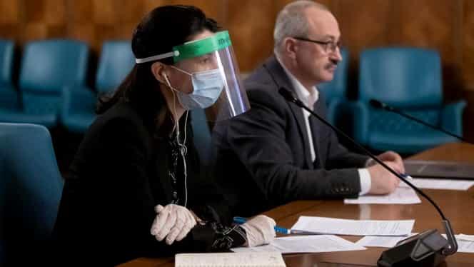 Ministrul Muncii, Violeta Alexandru, cu vizetă și masca de protecție la ședința de guvern. FOTO + VIDEO