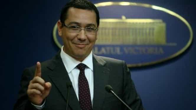 Pe cine vrea Victor Ponta să pună premier în locul Vioricăi Dăncilă. Propunerea a venit în această seară