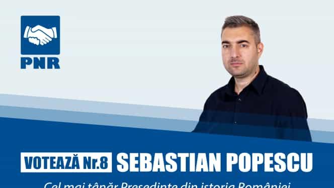 Cine este Sebastian Popescu. Cel mai tânăr candidat la Prezidențiale are două siteuri de știri pe care le monetizează cu reclame dubioase