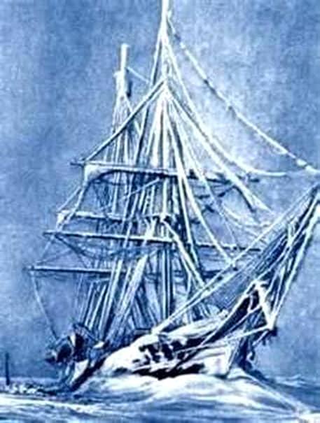 FOTO. În urmă cu peste două secole, o navă-fantomă era descoperită în Oceanul Arctic. Marinarii care au explorat-o au fost înfricoşaţi după ce au urcat la bordul ei