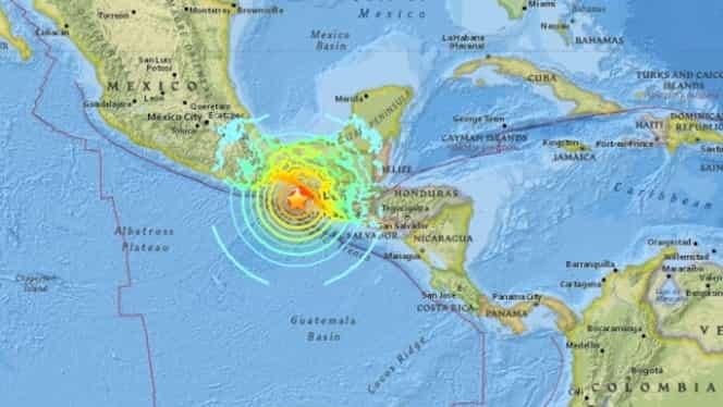 Cutremur cu magnitudinea 8 în Mexic, urmat de două replici. Avertisment de tsunami în mai multe ţări!
