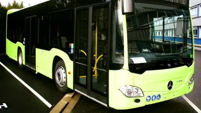 Gabriela Firea a publicat primele imagini cu viitoarele autobuze hibride de la STB. Primul va ajunge în București pe 1 martie