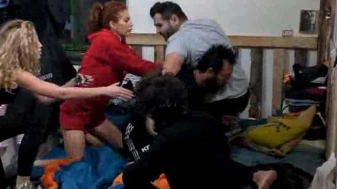 Scandal la Ferma de la PRO TV! Florin Pastramă și Kamara nu au mai ținut cont că sunt filmați. VIDEO