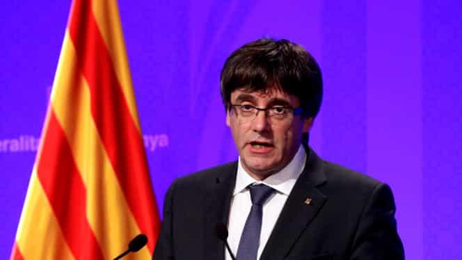 Carles Puigdemont şi miniştrii săi, eliberaţi condiţionat de un judecător din Belgia