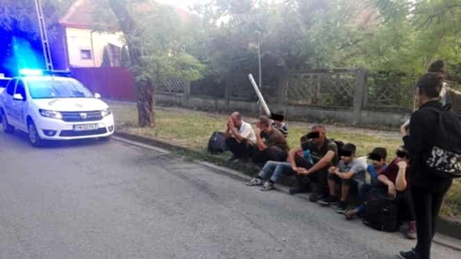 19 migranţi prinşi pe străzile din Timişoara, deşi aveau acte făcute în Capitală