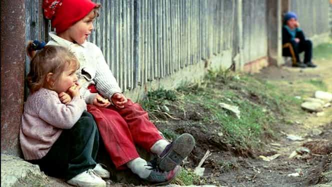 Cifrele sărăciei: Unul din opt copii din mediul rural merge la culcare flămînd