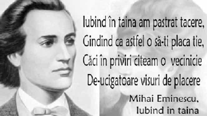 20 citate de Mihai Eminescu. Se aplică cu mare succes și la 169 de ani de la nașterea sa!