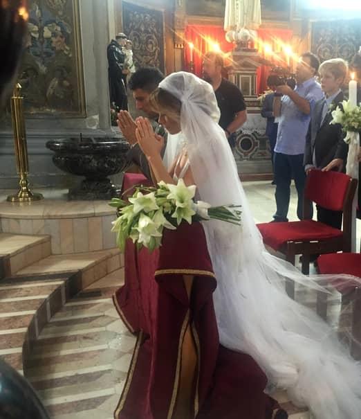 UPDATE – Primele poze cu Laura Cosoi în rochie de mireasă
