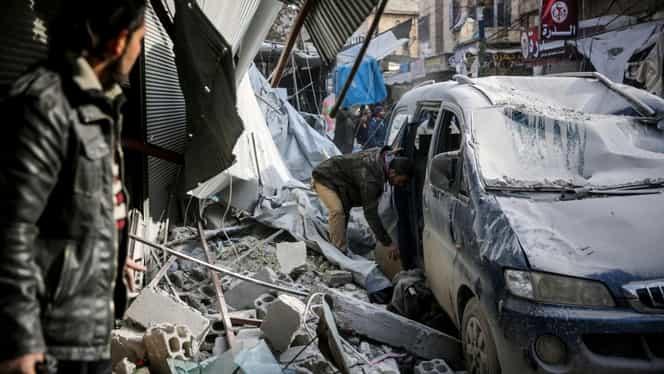 18 civili au murit în Idlib (Siria), într-un nou bombardament al autorităților siriene împotriva rebelilor