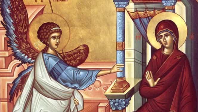 Calendar ortodox, 25 martie: Bunavestire a preasfintei Ferioara Maria