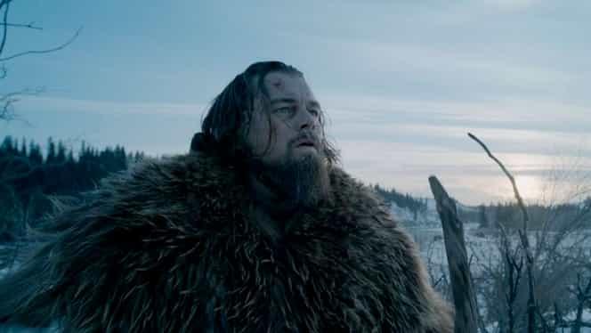 Vine Oscarul pentru Di Caprio? The Revenant, 4 nominalizari la Globurile de Aur si pole position pentru Oscaruri