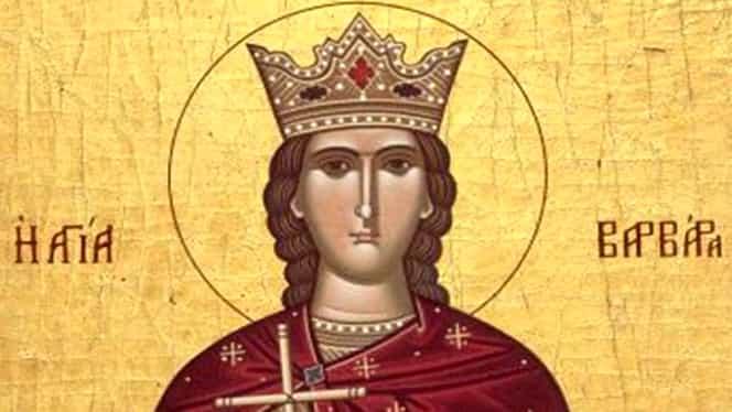 Calendar ortodox 4 decembrie: Sfânta Muceniţă Varvara şi Cuviosul Părinte Ioan Damaschin