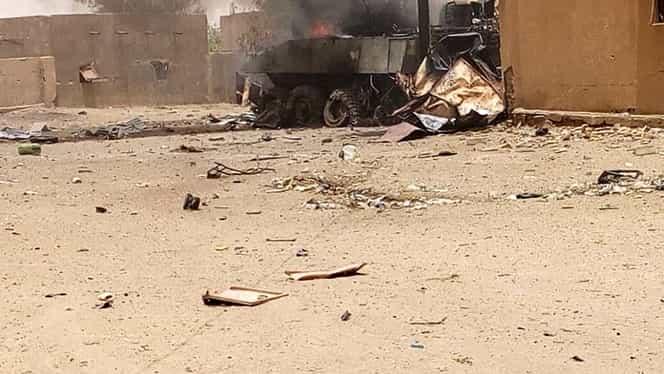 Atac terorist în Mali! Cel puțin 54 de militari au murit