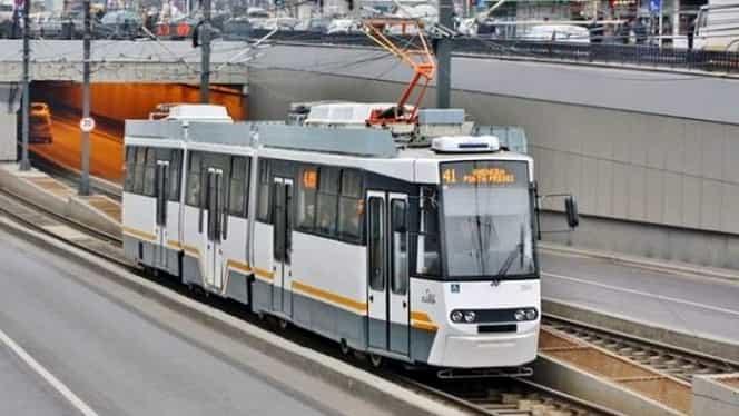 Bărbat acuzat că agresa femei în tramvaiul 41, reținut de polițiști