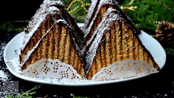 Rețeta zilei. Prăjitura Carpați, combinația ideală dintre foi fragede și cremă