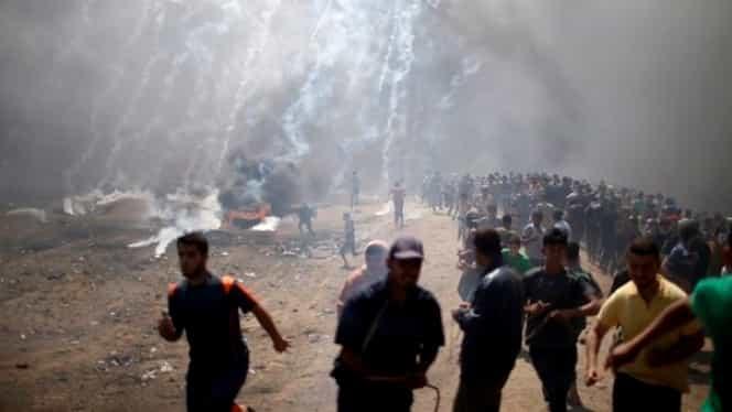 Lupte crâncene înaintea inaugurării Ambasadei SUA la Ierusalim! 25 de morți!