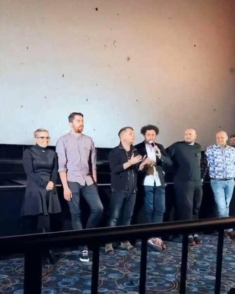 Actorul a regizat un film alături de Codin Maticiuc