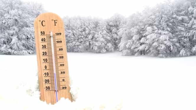 Prognoza meteo pentru perioada 16-25 decembrie 2018. Cum va fi vremea până de Crăciun