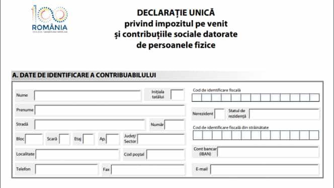 Declaraţia unică se depune până pe 25 mai 2020! Vezi unde trebuie să depui actul