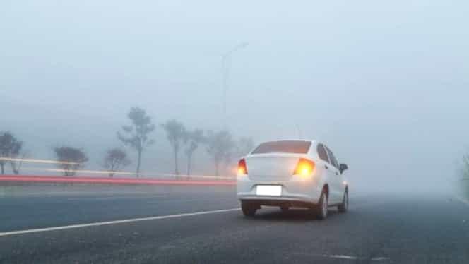 Vreme anormală în România. Cod galben de ceață în această dimineață, iar la prânz urmează temperaturi de vară